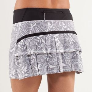 Like-New Lululemon Pace Setter Rival Skirt Skort